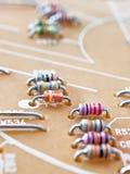 Resistores fotografia de stock