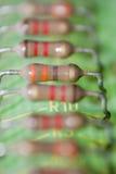 Resistores Fotos de archivo libres de regalías