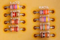 Resistores Imagens de Stock