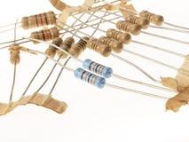 Resistores Foto de archivo