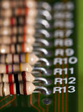 Resistores Imágenes de archivo libres de regalías