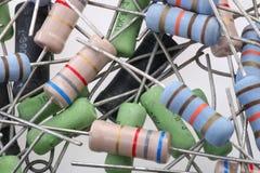 Resistori Fotografie Stock Libere da Diritti