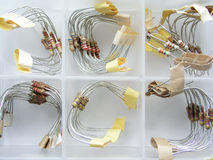 Resistors Royalty Free Stock Photos