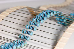 Resistors Royalty Free Stock Photography