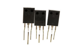 Resistors isolated Royalty Free Stock Photography