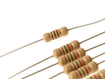 Resistors royalty free stock images