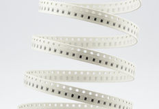 Resistors. SMD type. Resistors stripe. SMD type. on white royalty free stock images