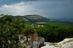 Resoconto prima della tempesta in Europa centrale Fotografia Stock
