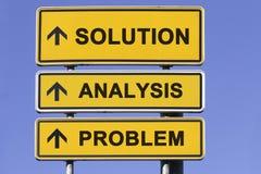 Resolução de problemas Fotografia de Stock Royalty Free