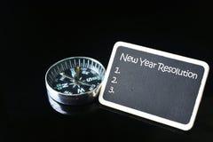 Resolución del Año Nuevo Fotografía de archivo libre de regalías