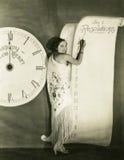 Resoluciones del Año Nuevo Foto de archivo libre de regalías
