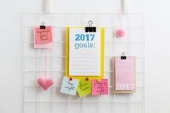 Resoluciones del ` s del Año Nuevo Imagen de archivo libre de regalías
