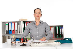 Resolute Businesswoman Stock Images