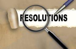 Resolution Stock Photo