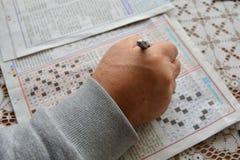 Resolva enigmas fotos de stock royalty free