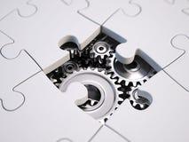 Resolvendo o conceito do problema Imagens de Stock