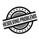 Resolving Problems rubber stamp Stock Images