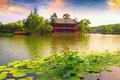 Αυτοκρατορικό καλοκαίρι Resortï ¼ Œ Heibei, Κίνα Chengde Στοκ εικόνα με δικαίωμα ελεύθερης χρήσης