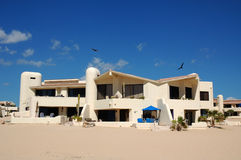 Resort. Typical mexican architecture from cabo san lucas mexico Stock Images