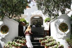 Resort. The famous luxury hotel at capri island in italy relais la palma.may 2007 Stock Image