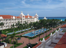Resort. A tropical resort at Mexico Royalty Free Stock Image