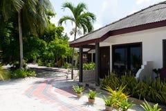 Resort area Stock Photo