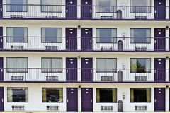 Resort Area Motel Rooms Royalty Free Stock Photography