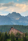 Resort area in National Park High Tatra Royalty Free Stock Photos