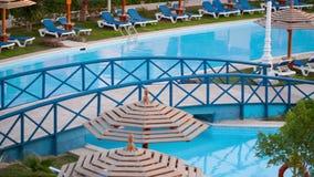 Resort area stock footage