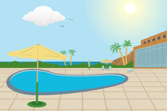 Resort Background Royalty Free Stock Image