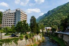 The resort Baile Herculane from Romania