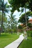 Resort on bali island Stock Photos
