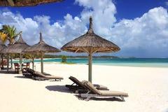 Resort beach Stock Photography