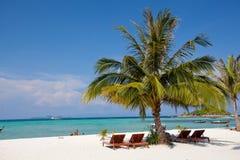 Resort on the beach Stock Photos
