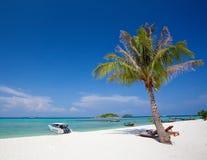 Resort on the beach Stock Image