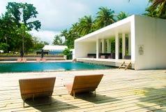 Resort On The Beach Royalty Free Stock Photos