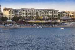Resort and Beach in Cabo San Lucas, Mexico Royalty Free Stock Image