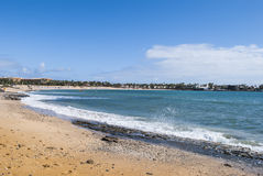 Resort beach Royalty Free Stock Image