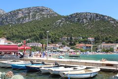 Resort beach stock photos