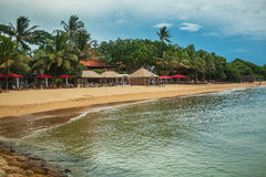 Resort beaches Sanur Stock Photos