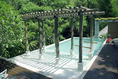 Resort beautiful pool Stock Photo