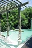 Resort beautiful pool Royalty Free Stock Image