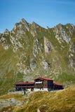 Resort below mountains Royalty Free Stock Images