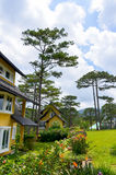 Resort. Binh An Village Resort, Dalat, Vietnam Royalty Free Stock Image