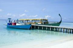 Resort boats Royalty Free Stock Image