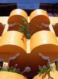 Resort Building Balconies Stock Images