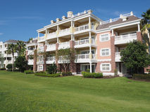 Resort building Royalty Free Stock Photography