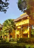 Resort buildings. Stock Photo