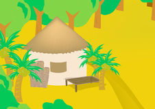 Resort bungalow Royalty Free Stock Photos