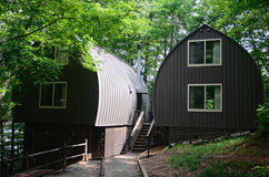 Resort Cabins Stock Photography